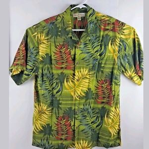 Tommy Bahama Short Sleeve Tropical Button Down / M